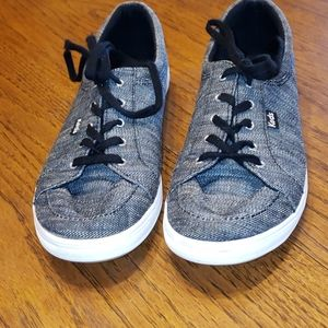 Keds black/gray sneakers size 8.5